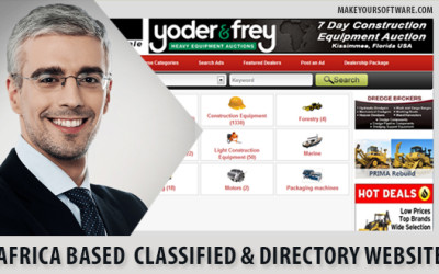Africa based classified & directory website