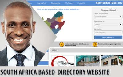 PHP Business Directory Script :  Case Study on South Africa based Skill Directory