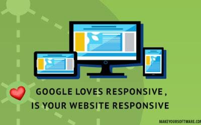 ❤  Google loves responsive , Is your website responsive