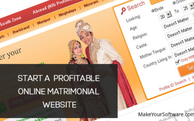 What Goes into Starting a Profitable Online Matrimonial Website