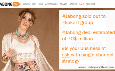 Jabong sale to Flipkart , Small Business at risk with their ecommerce strategy