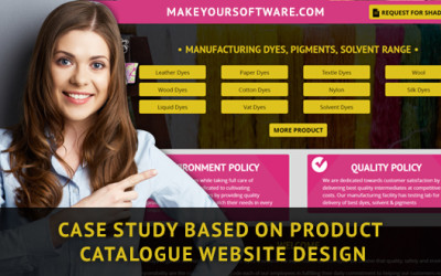 How a product website for chemical manufacturer help regain leads