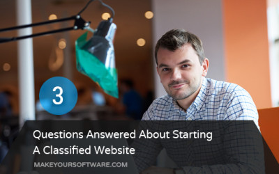 3 Questions About Starting A Classified Website