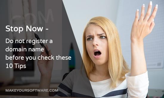 10 Tips for Domain Name Registration