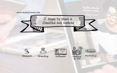 5 Steps To Start A Classified Ads Website