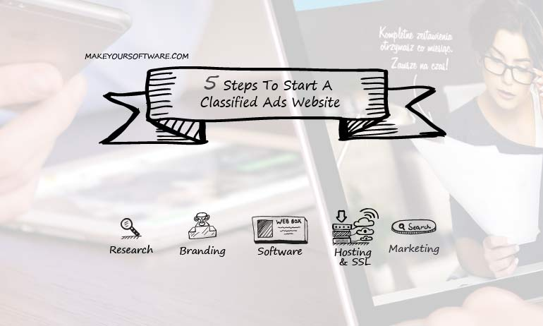 5StepsToStartClassifieddWebsite
